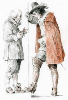 The Three Musketeers, 17th Century, Medieval, Sketches, Fantasy, Costumes, Adventure, Drawings, Classic