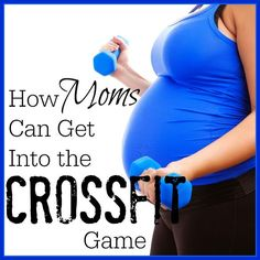 We've got the real deal on how moms can get into CrossFit from a certified pre- and post-natal fitness specialist. You can start getting stronger TODAY! | Fit Bottomed Girls