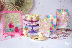 Our exclusive party pieces are the icing on the cake! #birthdayparty