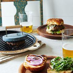 Soapstone Burger Grill Press