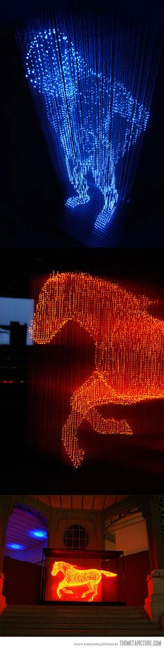 Light Sculptures by Makoto Tojiki