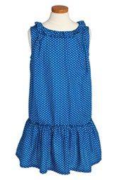 Burberry 'Afra' Polka Dot Dress (Little Girls & Big Girls)