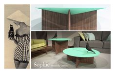 NOVA PEÇA Mesa de apoio Sophie / NEW PIECE Side table Sophie