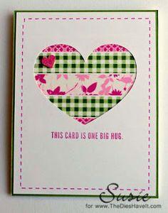 The Dies Have It: This Card is One Big Hug
