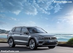Volkswagen Tiguan Allspace 2018 poster, #poster, #mousepad, #tshirt
