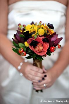 Bridal bouquet by Greenery Productions