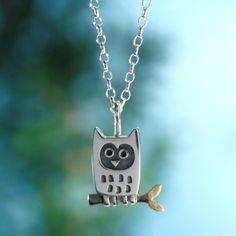 Alan Ardiff Little Owl Pendant Owl Pendant, Pendant Design, Irish Fashion, Contemporary Jewellery Designers, Irish Jewelry, Little Owl, Owl Necklace, Clay Jewelry, Women's Accessories