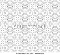 Vector monochrome seamless pattern, delicate ornamental linear background, thin lines, geometric tiles, oriental style, black & white. Abstract endless texture. Design element for prints, digital, web