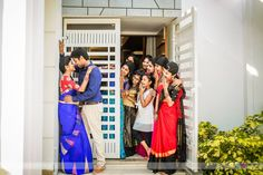 There is a famous saying 'Beauty lies in the eye of the beholder' and Nandhini lives up to this. We think this girl values the inner beauty more and has found a beautiful person both in and out and that reflects in her talk. Nandhini is an adorable girl a Indian Wedding Couple Photography, Wedding Couple Poses Photography, Wedding Couple Photos, Pre Wedding Photoshoot, Bridal Photography, Wedding Couples, Wedding Shoot, Mehendi Photography, Funny Photography