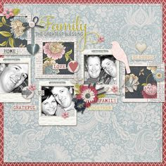 Layout using {Count Every Blessing} Digital Scrapbook Kit by Kim B Designs available at The Digital Press http://shop.thedigitalpress.co/Count-Every-Blessing-The-Kit.html #kimbdesigns