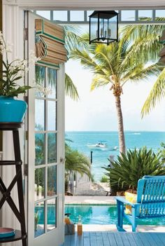 Beach out the door in Sunset Key