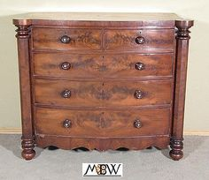 c1870-Antique-Mahogany-Victorian-Bow-Front-Chest-of-Drawers-bak86