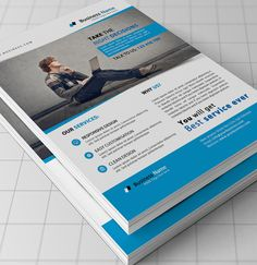 Business Flyer by Mehrographix on Creative Market