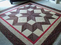"Love ""star"" pattern quilts!"