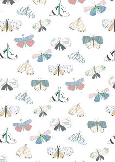 Butterfly Illustration. Art Print. by Amyislaillustration on Etsy, $35.00 illustrator, butterfly, butterfly print,