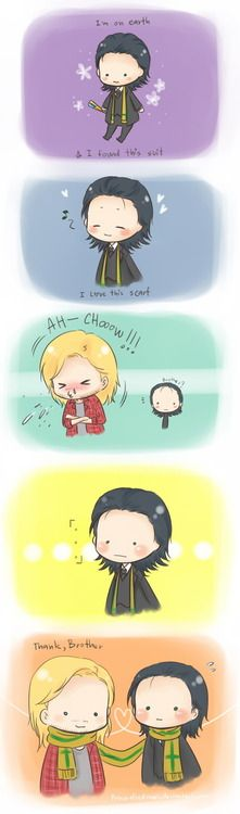 Loki. ~ OMG THE CUTENESS IN THIS IS TOO MUCH I'M GONNA DIE!!!!!!!!!!!!