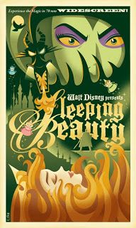 Lovin' this WPA retro style poster by Eric Tan. He's got TONS of this style of work, almost all for Disney.  The Art (and Random Adventures) of Eric Tan