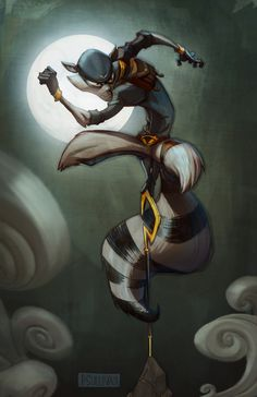 Sly Cooper Thieves in Time — Paul Sullivan Art