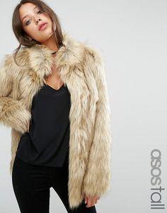 ASOS Tall | ASOS TALL Jacket in Vintage Faux Fur
