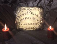 Spirit Board Large special finish by LordMockDesigns on Etsy