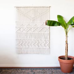 Large Macrame Wall Hanging added to the shop!
