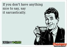 sarcastic quotes funny