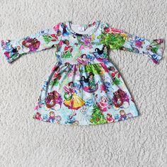 Girls Fall Dresses, Girls Christmas Dresses, Summer Dresses, Christmas Fashion, Christmas Clothing, Little Girl Outfits, Time 7, Girl Cartoon, Silk