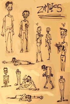 Breebird Doodle People, Cartoon Illustrations, Sketchbook Inspiration, Doodles, Diy, Bricolage, Do It Yourself, Homemade, Donut Tower