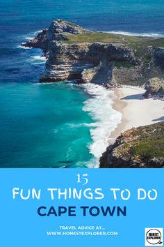 15 fun things to do in Cape Town! The city dominated by the stunning table mountain, Cape Town is worth exporing, from beautiful gardens to hiking trails. Ways To Travel, Travel Tips, Explore Travel, Africa Travel, Solo Travel, Cape Town, Travel Around The World, Travel Destinations, Things To Do
