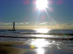 Reflejo del sol en Baix a mar acompañado del Alfa & Omega
