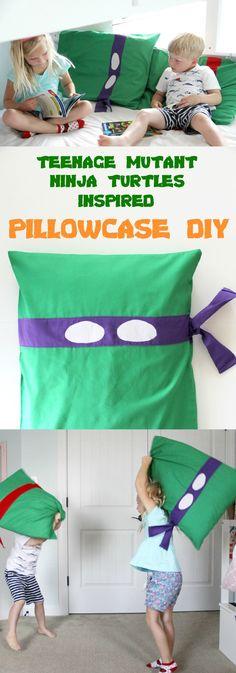 TMNT Pillowcase DIY