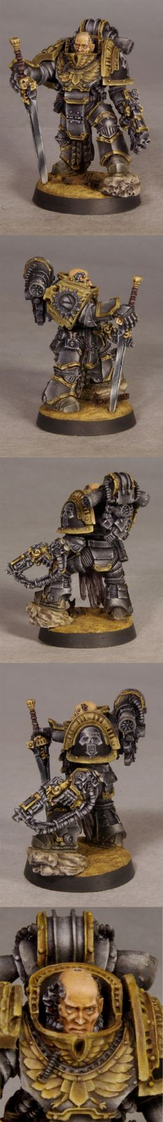 Iron Warriors legion praetor by weirdboy