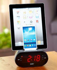 DOK Universal Dual Charger & Alarm Clock|LTD Commodities