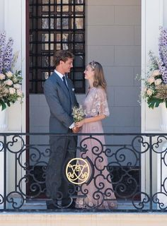 Grace Kelly's grandson, Pierre Casiraghi, wed Beatrice Borromeo who wore a blush pink Valentino couture gown