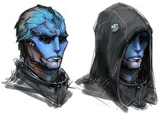 mass effect drell | Mass Effect Universe: Eliakim by aestheticmachine on deviantART