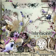 Unbreakable by G & T Designs at E-scape and Scrap