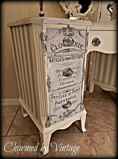 Shabby Chic Projects You Can Do Yourself How To | DIY Project Difficulty: Simple MaritimeVintage.com #ShabbyChic #Shabby #chic