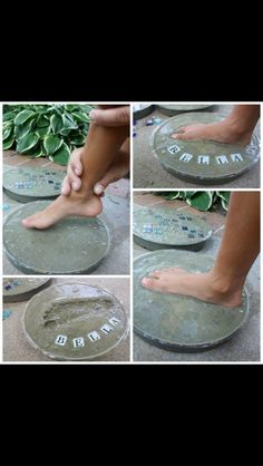 Keepsake/personalized stepping stone