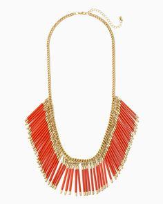 charming charlie | Sun Goddess Fringe Necklace | UPC: 410006741119 #charmingcharlie