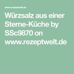 Würzsalz aus einer Sterne-Küche by SSc9870 on www.rezeptwelt.de
