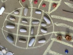"""Chalk & stones ("""",)"""