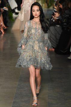 Look 6 Elie Saab Haute Couture Printemps-été 2015
