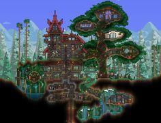 Zelda Terraria House Designs Html on