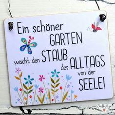 Gartenschild