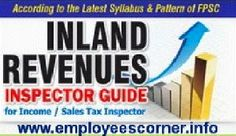 http://www.employeescorner.info/Read Online or Download Free English Test Book for preparation of Test/ exam for Inspectors inland Revenues held by Federal Public Service Commission expected in first week of March. This book is provided by Admin of Employees Corner, a platform where employees of Pakistan (Provincial and Federal) can built their career and job seekers can search latest jobs for them. Thanks Employees Corner.