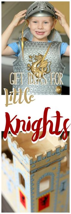 Gift ideas for boys and girls that love knights, castles and all things medieval. Some of the best imaginative toys out there!