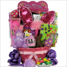 10 yr old bday gifts google search gifts pinterest egg streme glamour easter gift basket for girls ages 6 9 years old negle Gallery