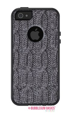 Cable Knit Sweater Charcoal FASHION SERIES Collection #OTTERBOX Commuter iPhone 5 5S 5C 4/4s #Case by iselltshirts,