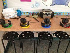 A Teeny Tiny Teacher: Listening Center Stools