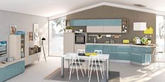 Cucina Kyra - Cucine Moderne - CreoKitchens Interior Design Kitchen, Kitchen Designs, Kitchen Ideas, Diy Kitchen Storage, Luxury Home Decor, Bellisima, Sweet Home, House Design, Table